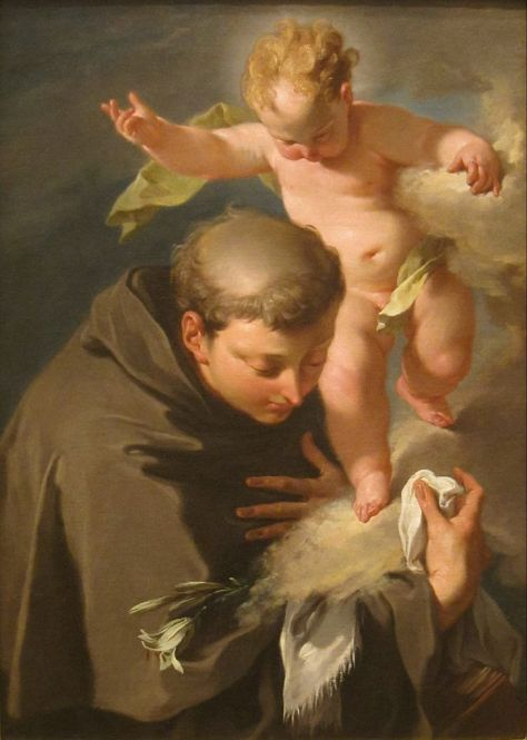 729px-The_Vision_of_Saint_Anthony_of_Padua_painting_by_Giovanni_Battista_Pittoni,_San_Diego_Museum_of_Art